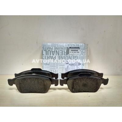 Колодки тормозные передние Renault Dokker (2013-...) Оригинал 410600379R