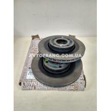 Диски тормозные вентилируемые Renault Dokker, Renault Lodgy (2013-...) Оригинал 402061200R (комплект 2 шт.)
