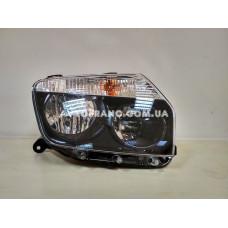 Фара правая черная Renault Duster 2010-2014 Оригинал 260101891R