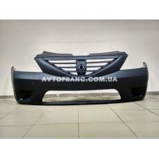 Бампер передний без ПТФ Dacia Logan MCV Оригинал 6001549312