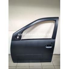 Дверь передняя левая Dacia Logan MCV (2007-2008) Оригинал 801013696R (под молдинг)