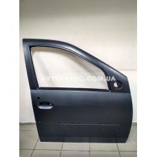 Дверь передняя правая Dacia Logan MCV (2007-2008) Оригинал 801002133R (под молдинг)