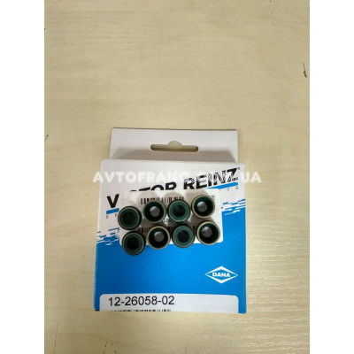 Комплект сальников клапанов 1.4, 1.6 8V Renault VICTOR REINZ 122605802 Оригинал 7700736465, 8200234651