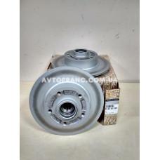Диски тормозные не вентилируемые задние Renault Megane 3, Renault Fluence Оригинал 432001539R (комплект 2 шт.)