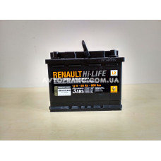 Аккумуляторная батарея 60 Ah 600 A Renault Оригинал 7711238597
