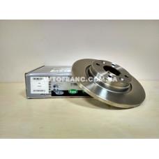 Диск тормозной не вентилируемый Renault Sandero 2 LPR R1015P Оригинал 7701208252