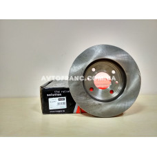 Диск тормозной вентилируемый 238 мм Renault Kangoo MAXGEAR 190747 Оригинал 7701204286