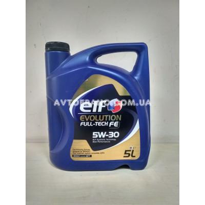 Моторное масло Renault ELF Evolution Full-Tech 5W-30 FE 5L