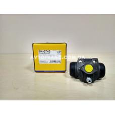 Цилиндр тормозной рабочий Renault Symbol (Clio 2) METELLI 040743