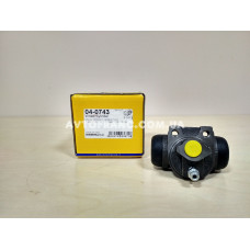 Цилиндр тормозной рабочий Renault Logan METELLI 040743