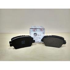 Колодки тормозные передние Renault Duster QSP QS-1617 Оригинальный номер: 410608481R